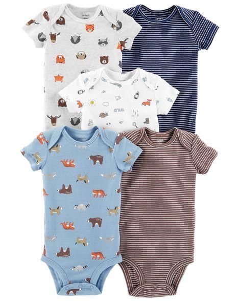 274b9fbb47 Kit Body Carter s 5 Peças Menino Floresta Carter s Roupinhas de Bebê ...