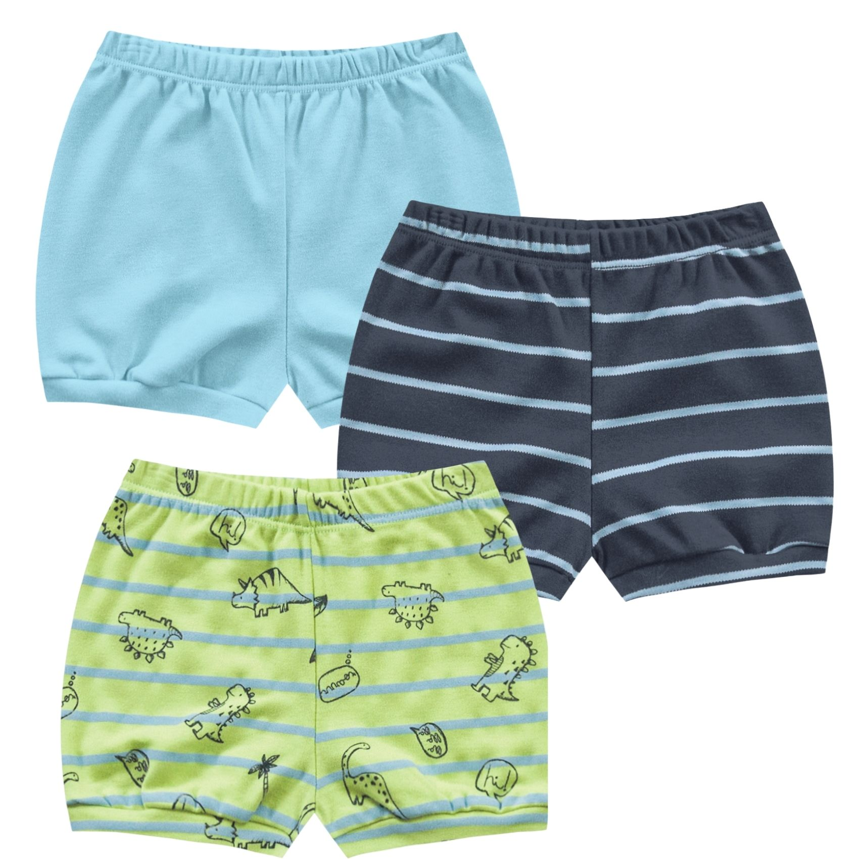 Kit Shorts Kiko Baby Dino