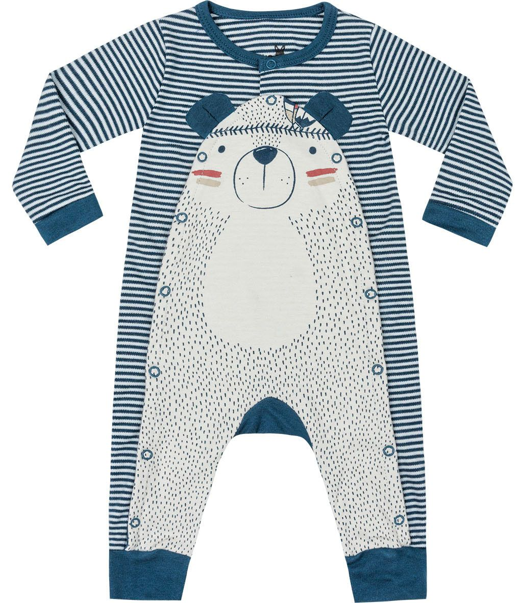 Macacão Camping Azul Kiko Baby