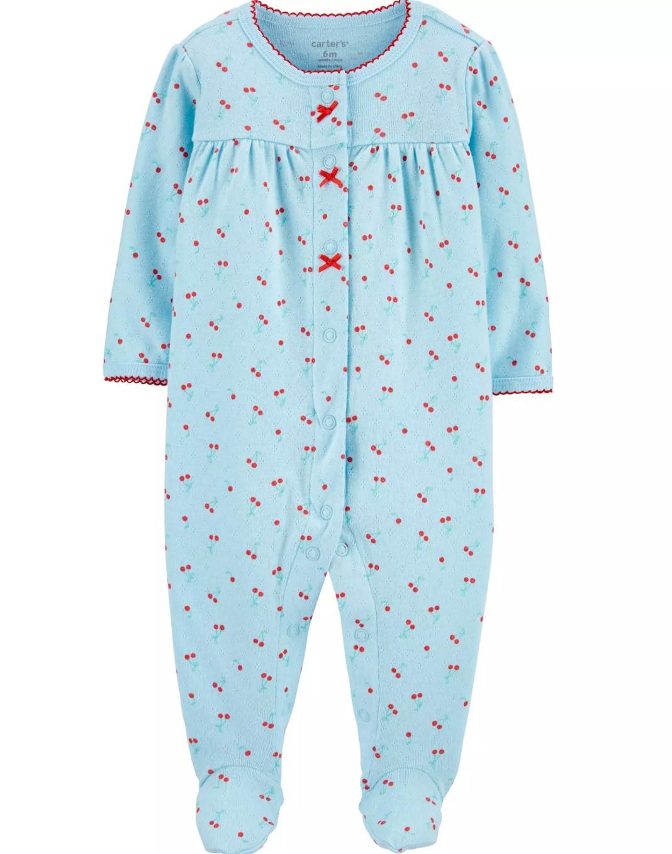 Macacão Pijama Carters Cerejinhas