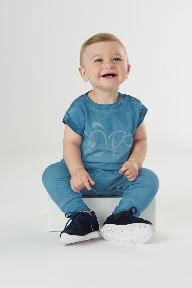 Macacão Saruel Oops Up Baby