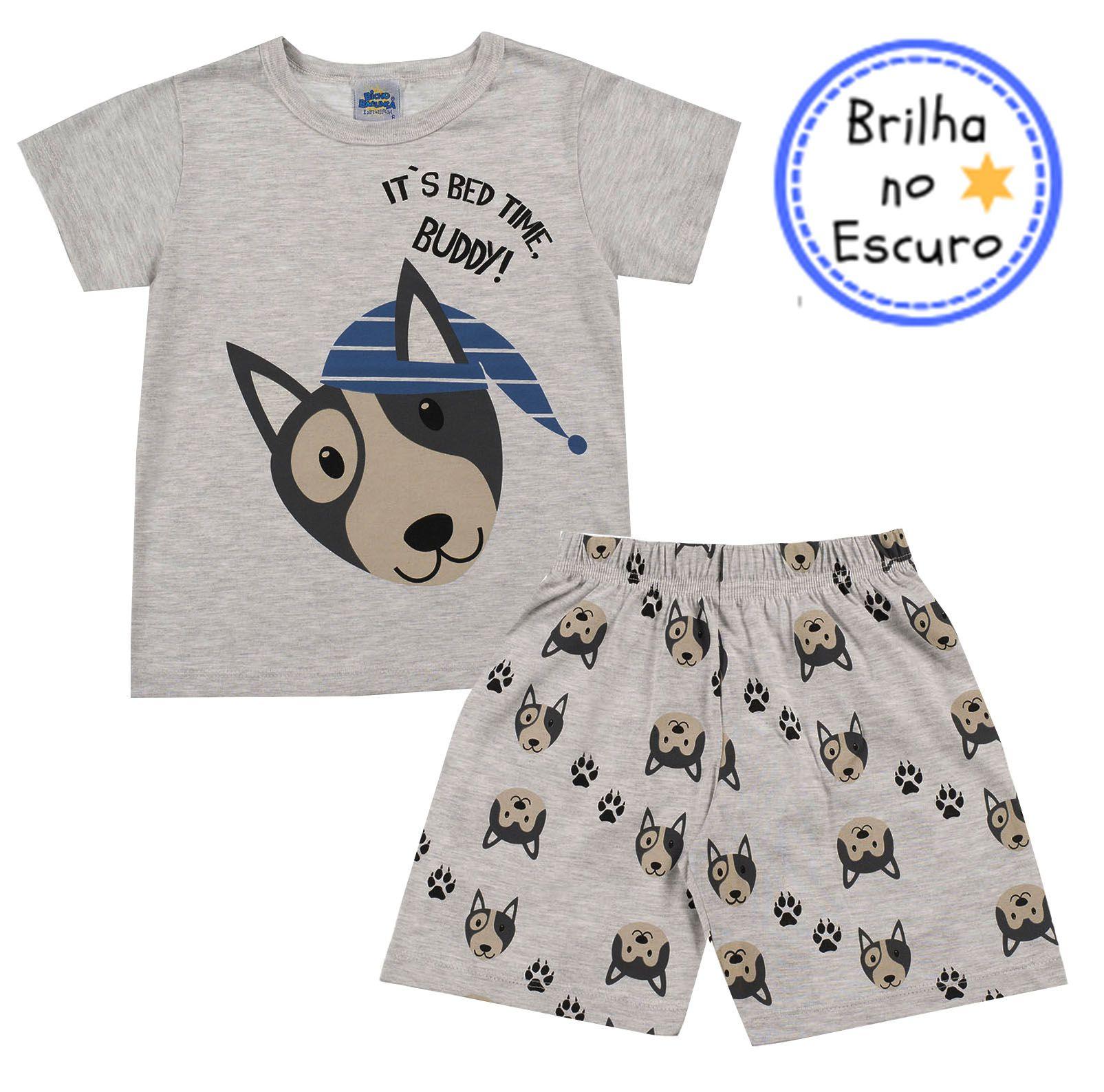 Pijama Buddy Mescla Bicho Bagunça