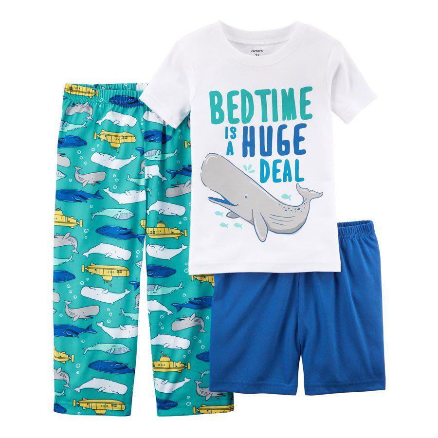 bedc11200 Pijama Carter s 3 Peças Baleia Carter s Roupinhas de Bebê Importadas ...