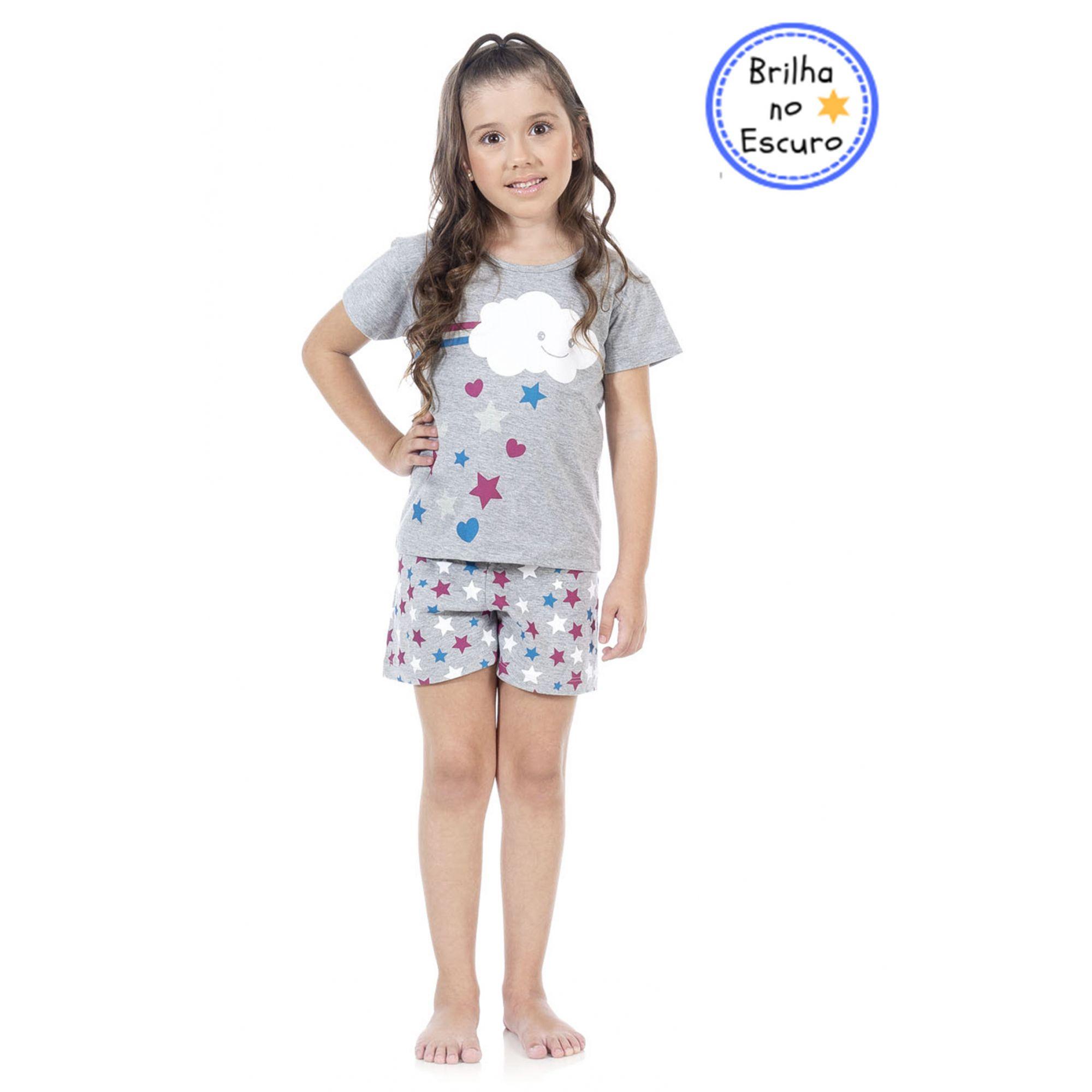 Pijama Cloud Mescla Bicho Bagunça