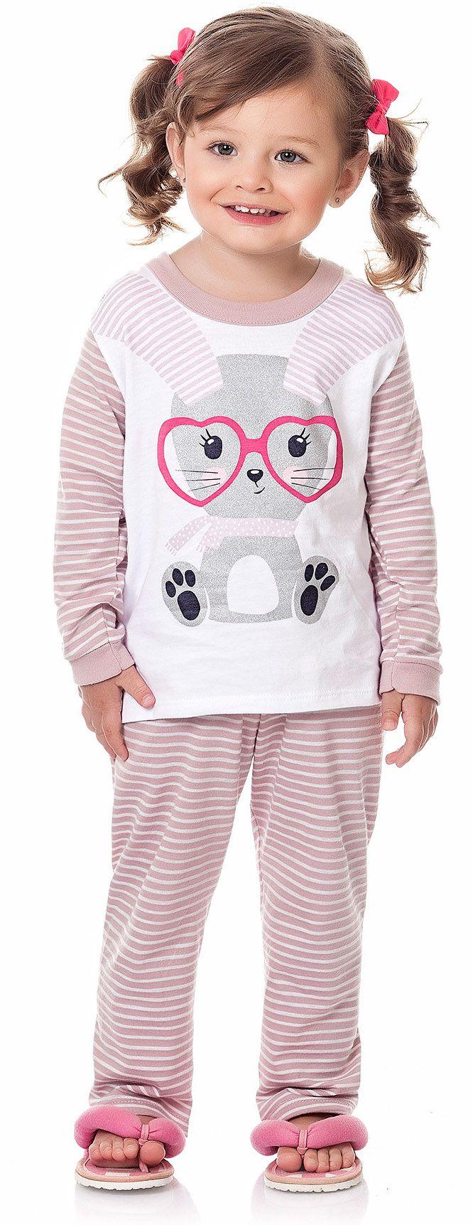 Pijama Coelhinha Kiko e Kika