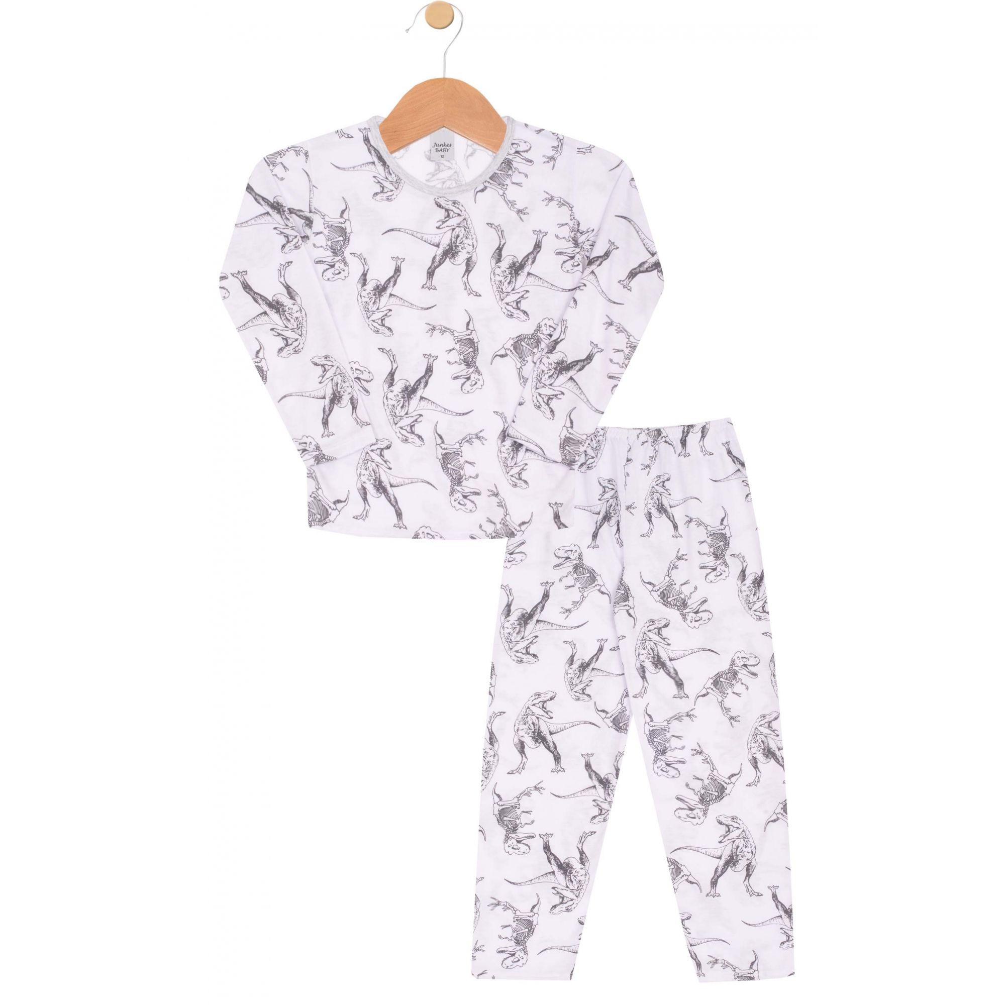 Pijama Dino Esqueleto Junkes Baby