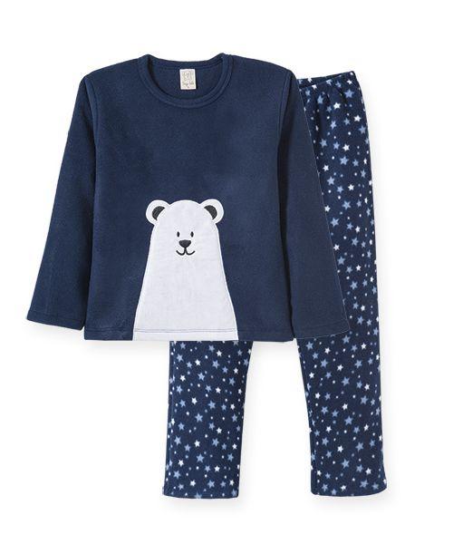 Pijama Soft Urso Polar Pingo Lelê
