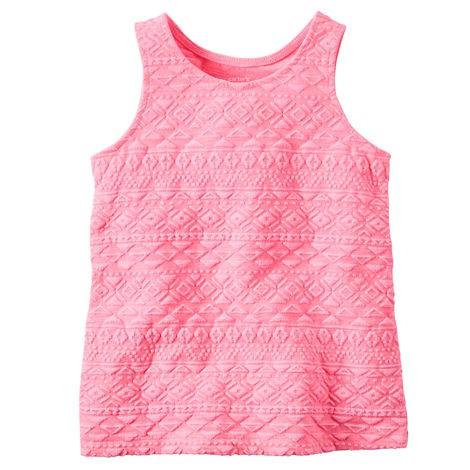 Regata Carters Texturizada Rosa Neon