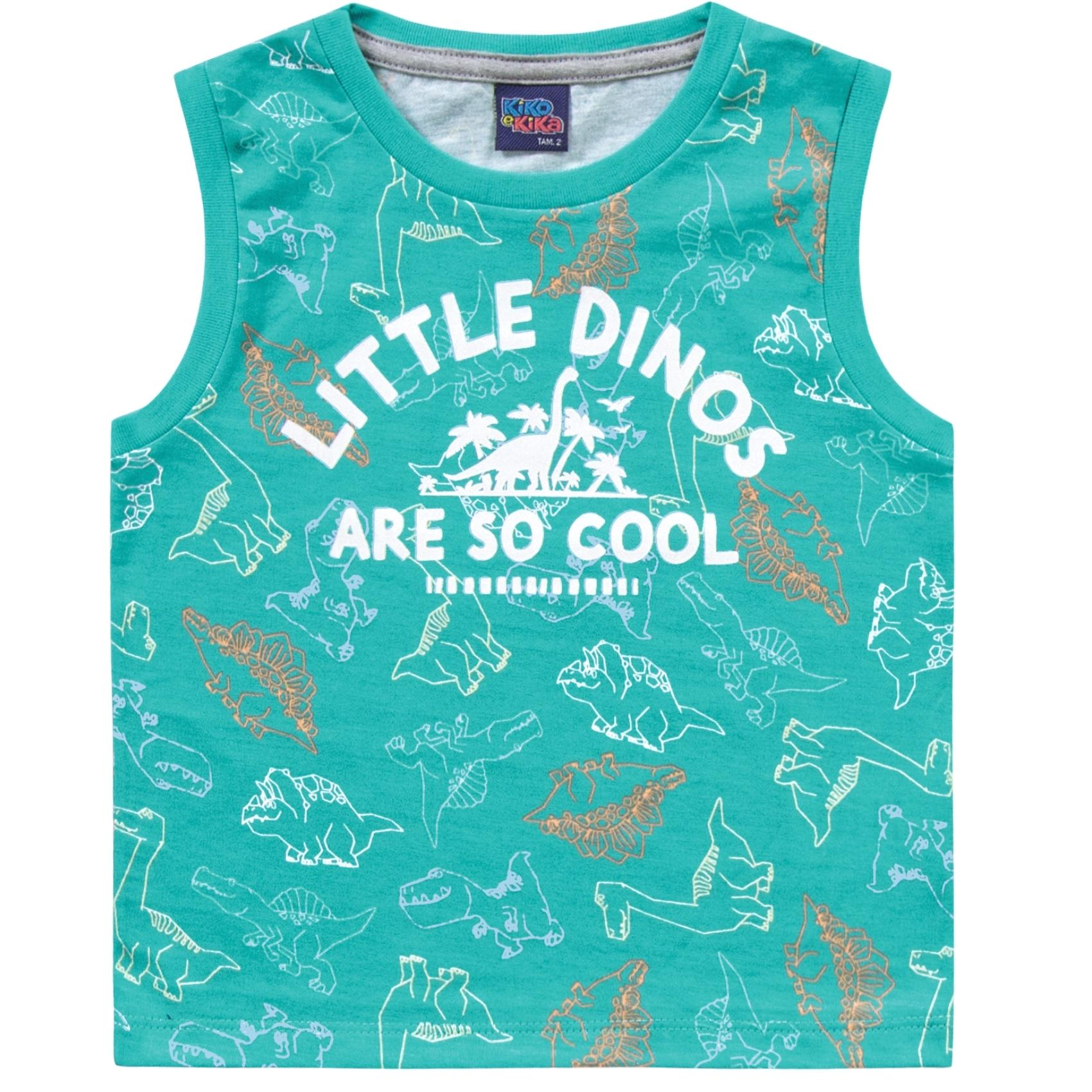 Regata Little Dino Verde Kiko