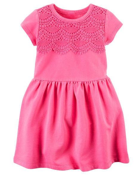 Vestido Carters Rosa Neon