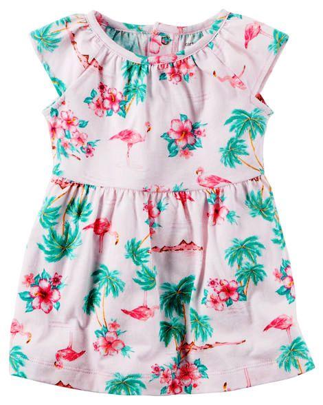 Vestido Carter's Flamingo