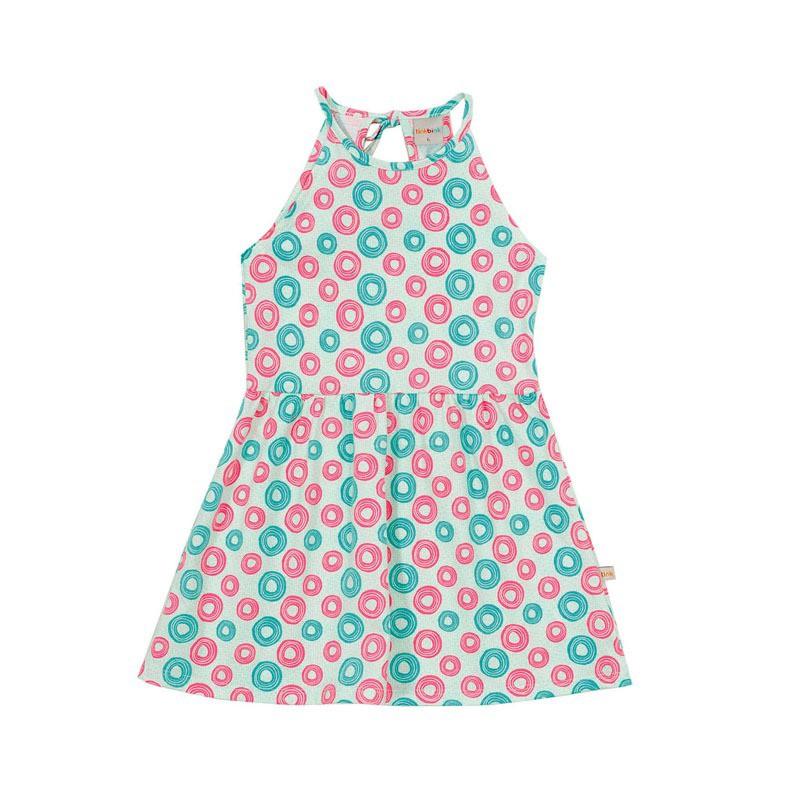 Vestido Círculos Coloridos Tink Bink