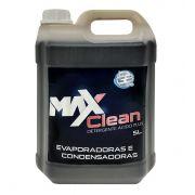 Detergente Desincrustante Ácido MaxClean Plus para Uso Geral e Limpeza de Evaporadores de Ar Condicionado _ 5 Litros