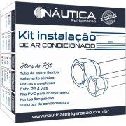 Kit Instalacao de Ar Condicionado 24 / 30.000 Btus com Suporte em Polímero de 400mm