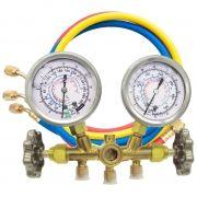 Manifold Analógico para Ar Condicionado Automotivo / Inverter / Split R22 R407C R410A