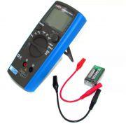 Capacimetro Digital Eos Kt6013 - Mede Capacitor Novo