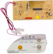 Placa Eletrônica E Adesivo Compat. Lavadora Cwc22a/b Bivolt