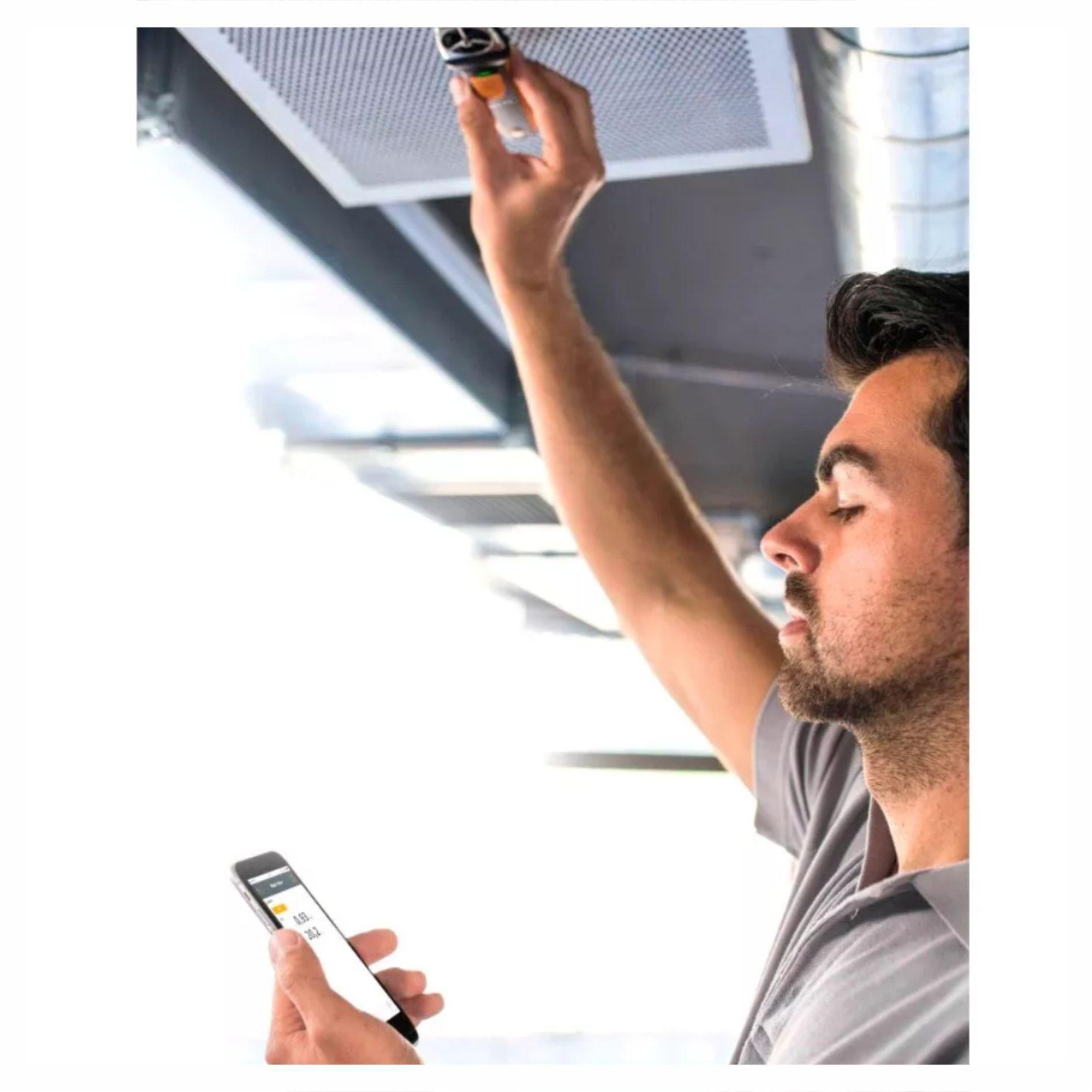 Anemômetro de Medição Molinete Bluetooth Com App Testo 410i