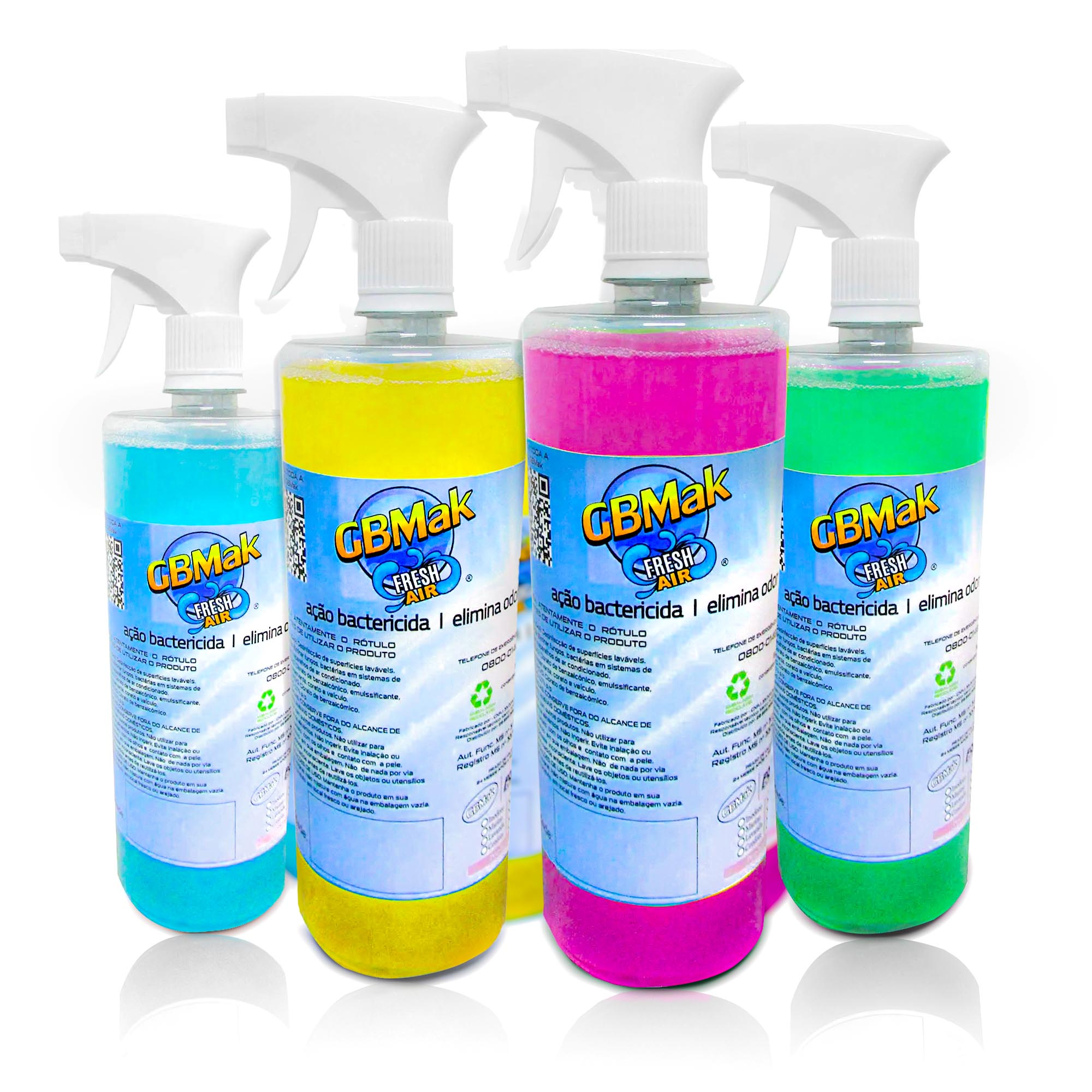 Bactericida Aromatizante GB Fresh Air para Limpeza de Ar Condicionado