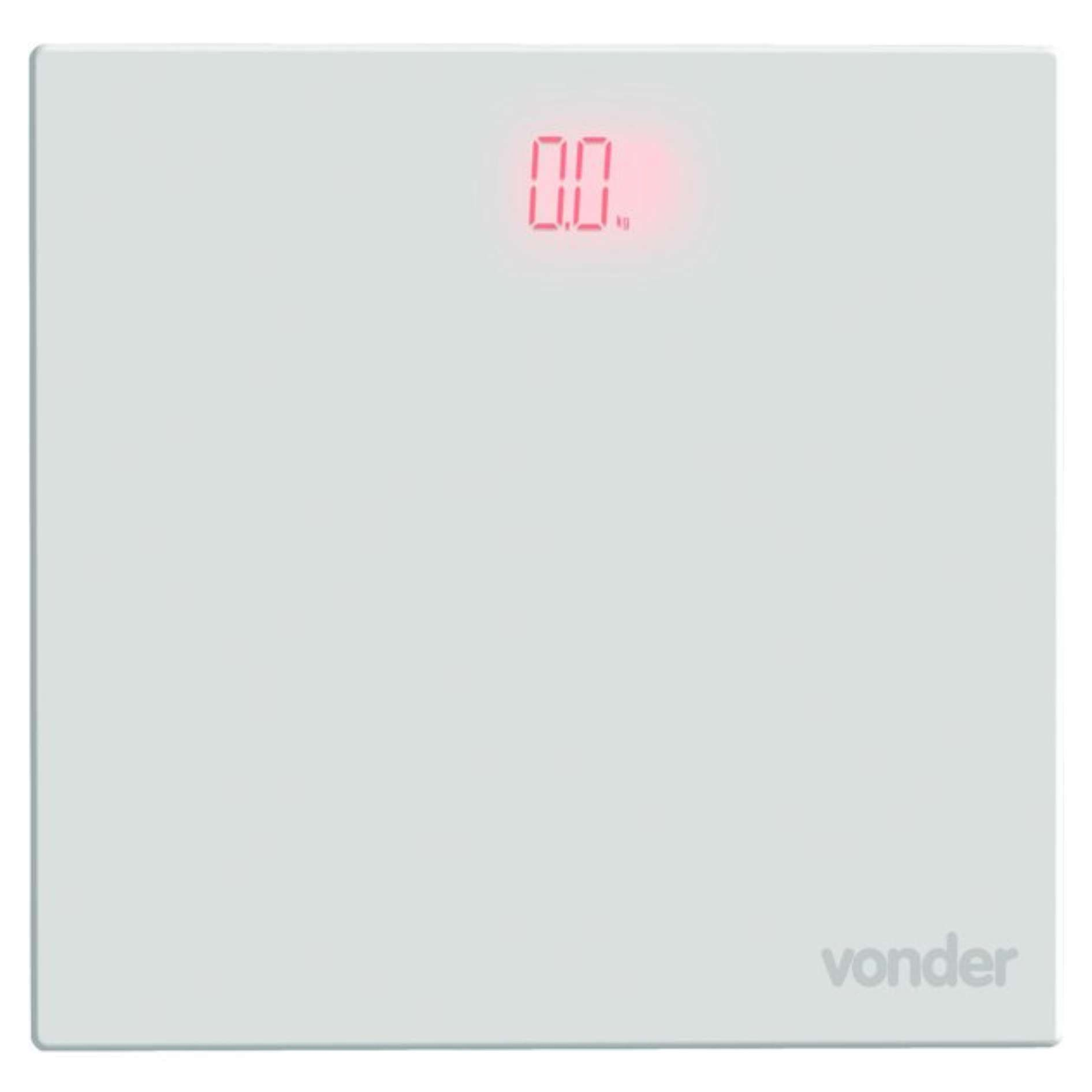 Balança Digital de Vidro Vonder BDV0150 150 kg Display Led