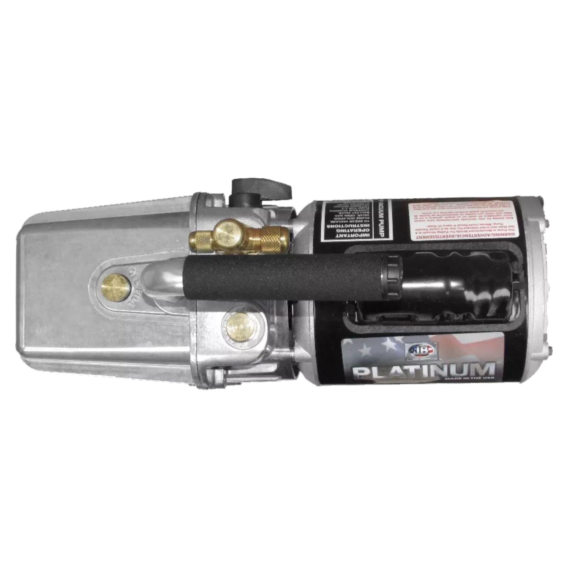 Bomba De Vácuo JB DV 142N 250 PLATINUM 5Cfm 2 Estágios Bivolt