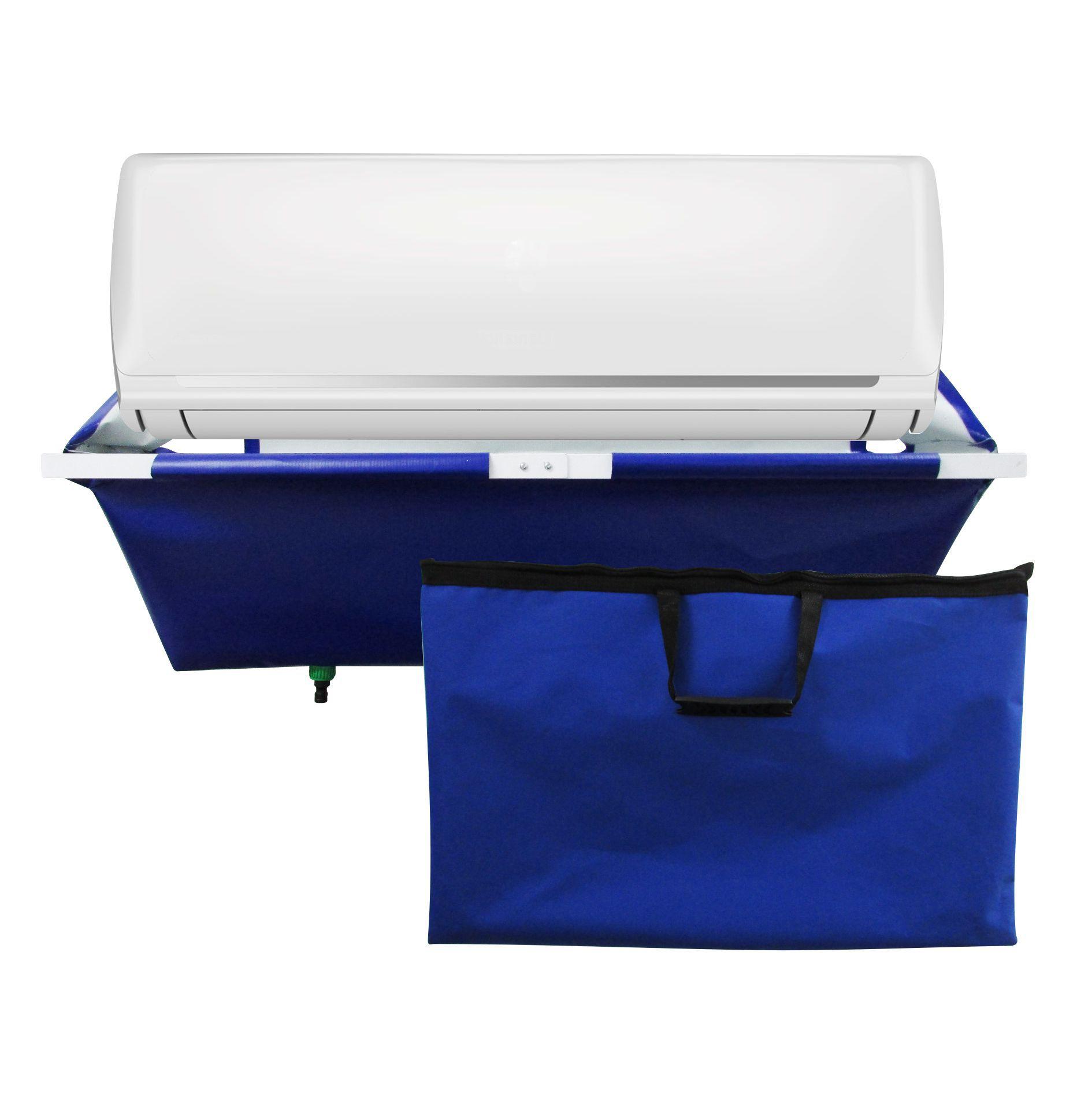 Coletor de Residuos de Limpeza para Ar Condicionado Split 7000 Btus à 24000 Btus com Dreno