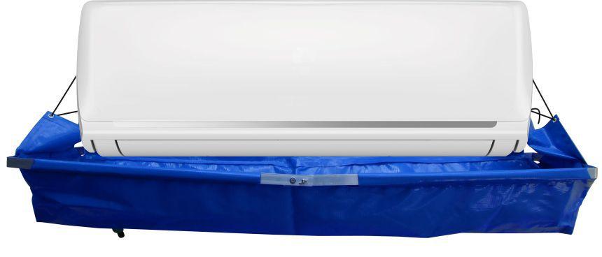 Coletor de Resíduos para Limpeza de Ar Condicionado Split HiWall até 30.000 Btus com Dreno e Mangueira