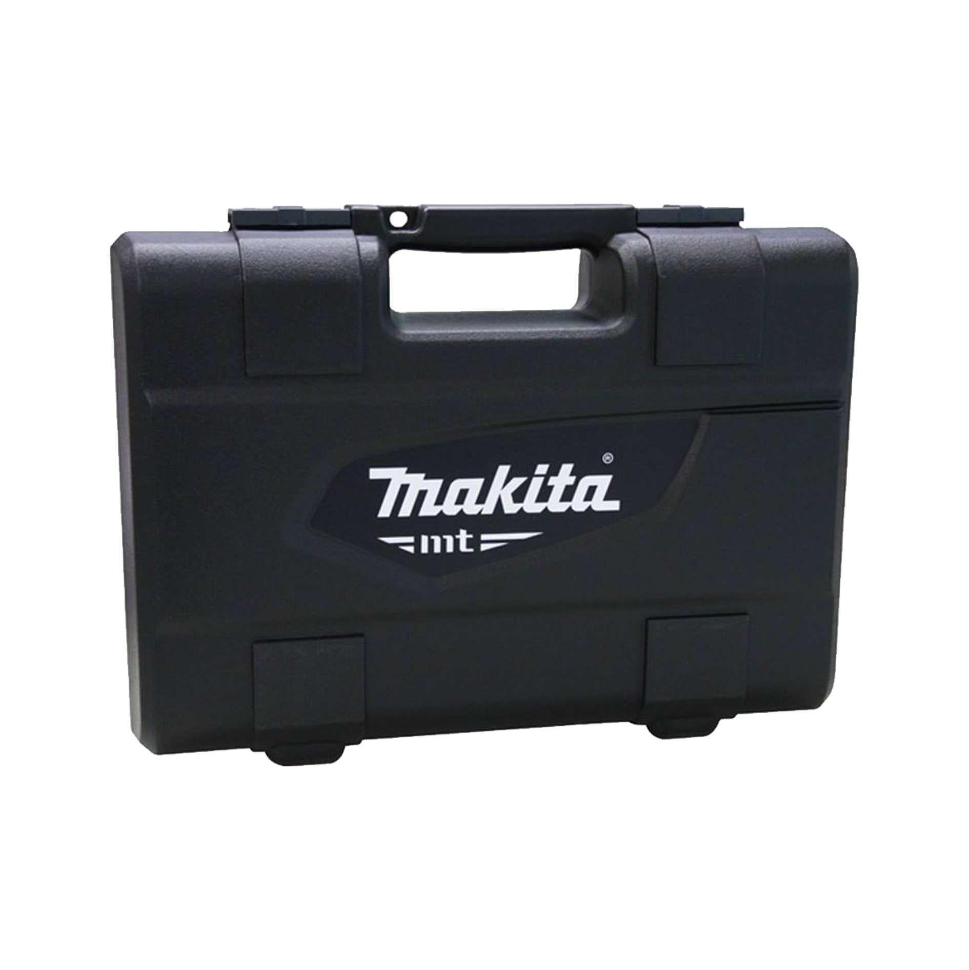 Combo Ferramentas Makita MTK0001GX1 Martelete Rolativo M8700 Esmerilhadeira Angular M0901 e jogo de Brocas