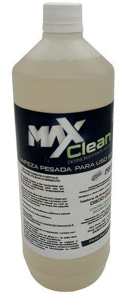 Desincrustante Ácido MaxClean para Uso Geral e Limpeza de Evaporadores de Ar Condicionado _ 1 Litro