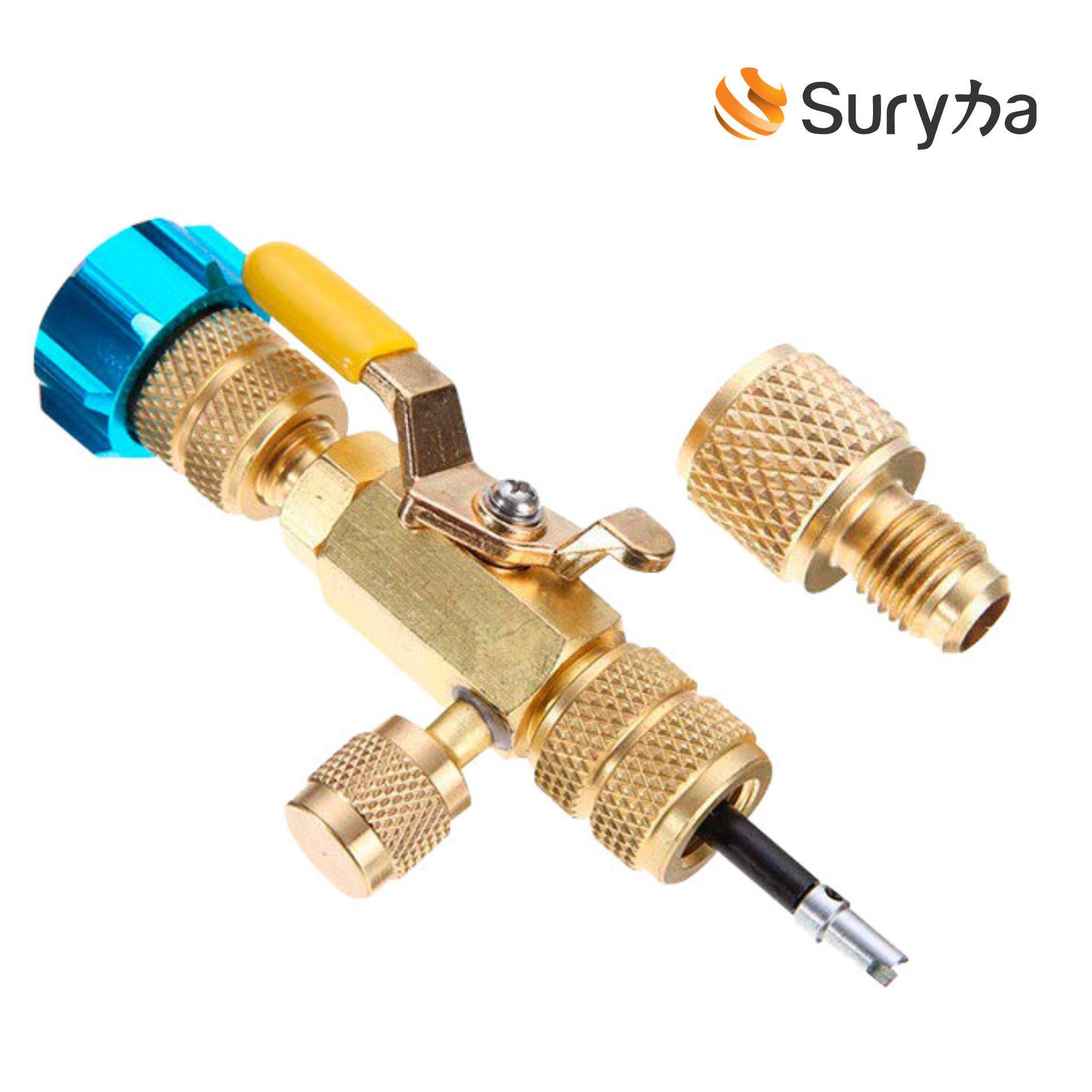 Extrator de Válvula de Serviço Schrader Suryha 80170.026 com Adaptador