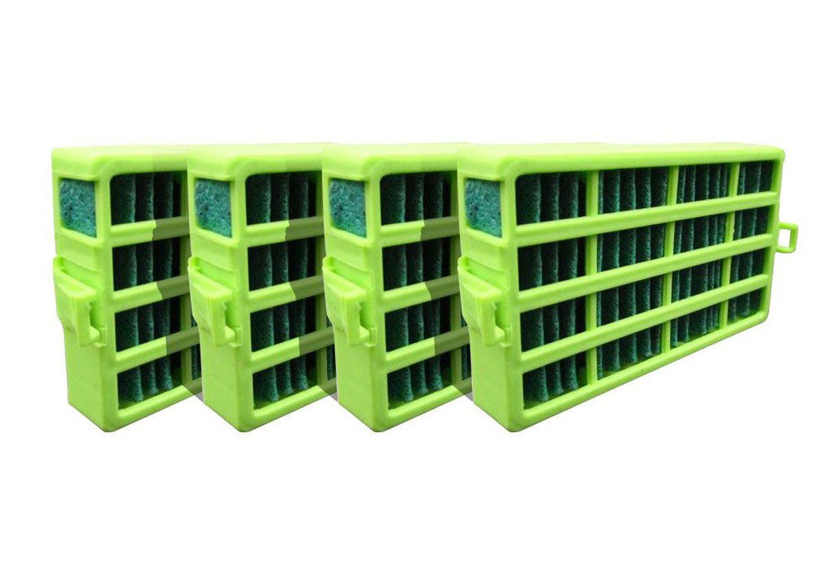 Kit 4 Filtro Bem Estar Anti Bactéria Para Refrigerador Crm55 Crm50  - Náutica Refrigeração e Climatização