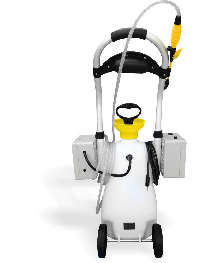 Kit para Limpeza de Ar Condicionado K7 - Maquina de Limpeza GBMak Clean 16 Litros / Pulverizador Manual / Coletor de Resíduos K7