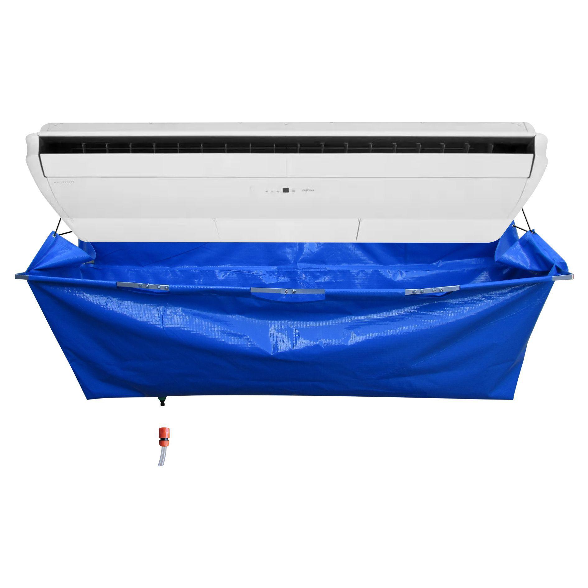 Kit para Limpeza de Ar Condicionado Piso Teto - Maquina Automatica GBMak Clean 5 Litros / Pulverizador Manual / Coletor de Residuos Piso Teto