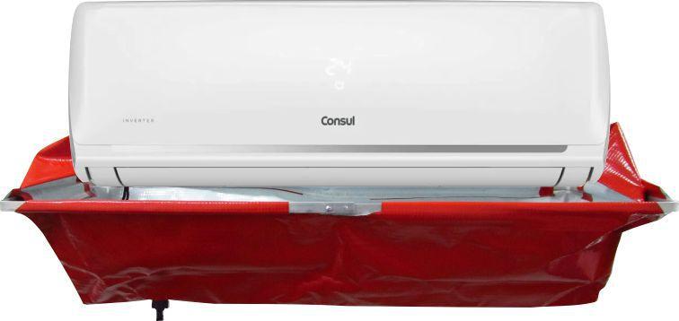 Kit para Limpeza de Ar Condicionado Split - Maquina Automática GBMak Clean 8 Litros / Pulverizador Manual / Coletor de Resíduos Split