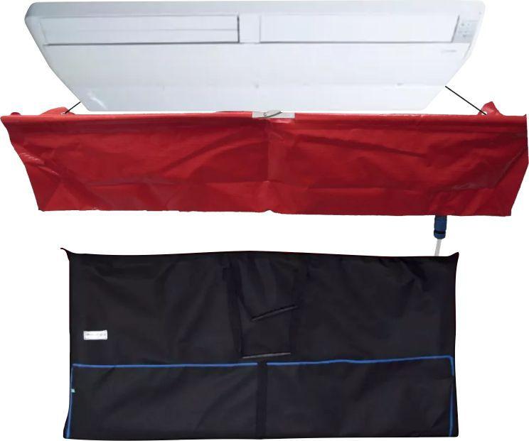 Kit para Limpeza de Ar Condicionado Split - Maquina Automatica GBMak Clean 8 Litros / Pulverizador Manual / Coletor de Residuos Piso Teto