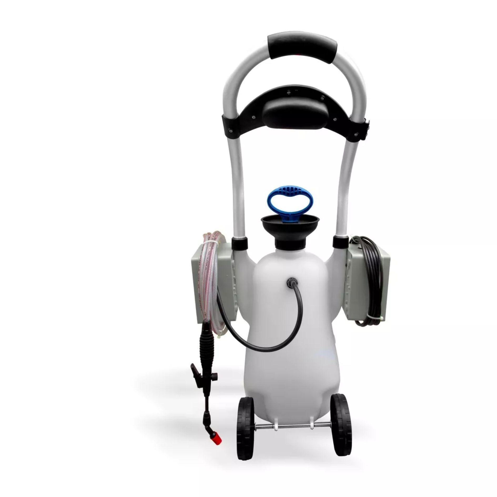 Kit para Limpeza de Ar Condicionado Split - Maquina Automática GBMak PopClean 16 Litros / Pulverizador Manual / Coletor de Resíduos Split  - Náutica Refrigeração e Climatização