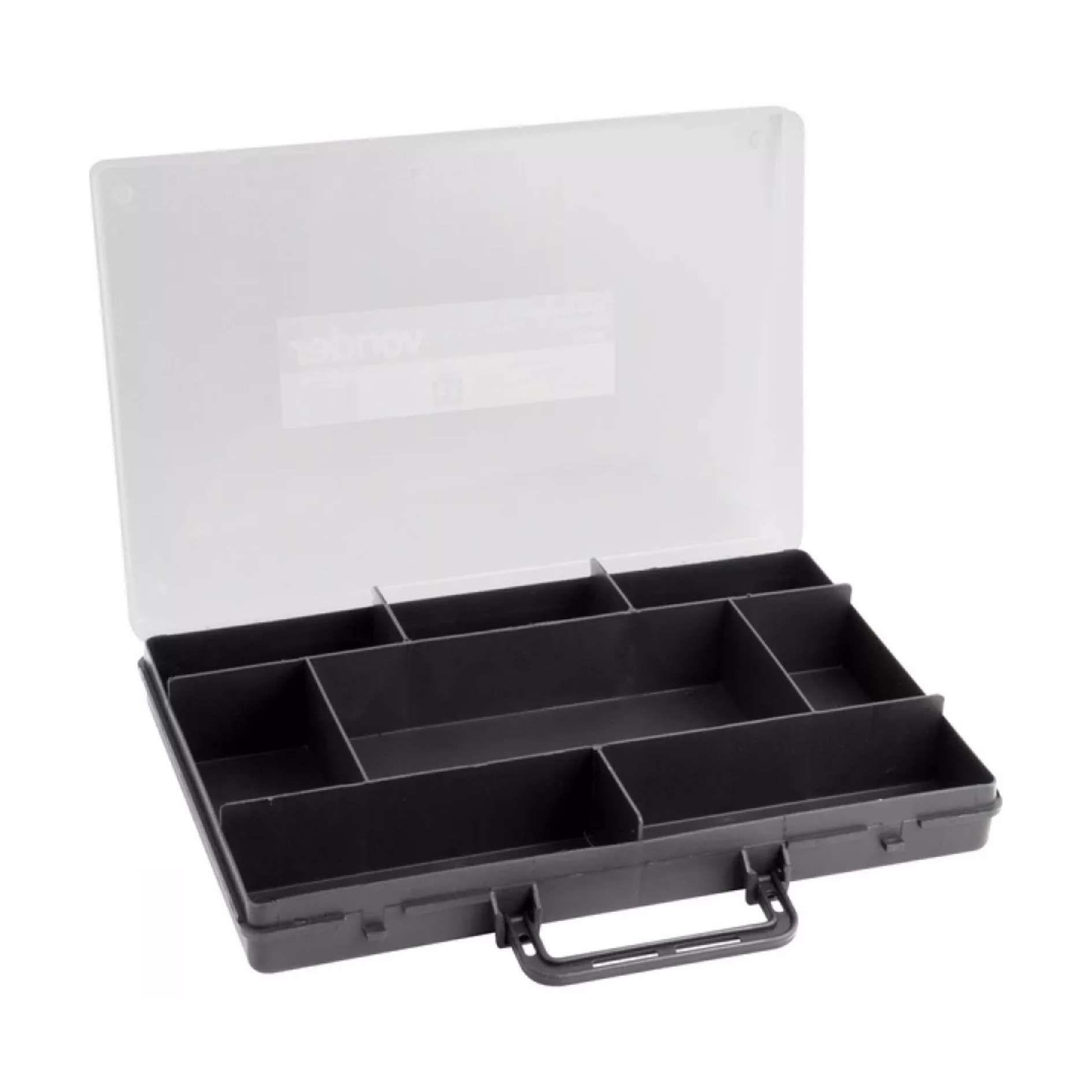 Maleta Plástica Simples Para Ferramentas E Parafusos Vonder VD8020