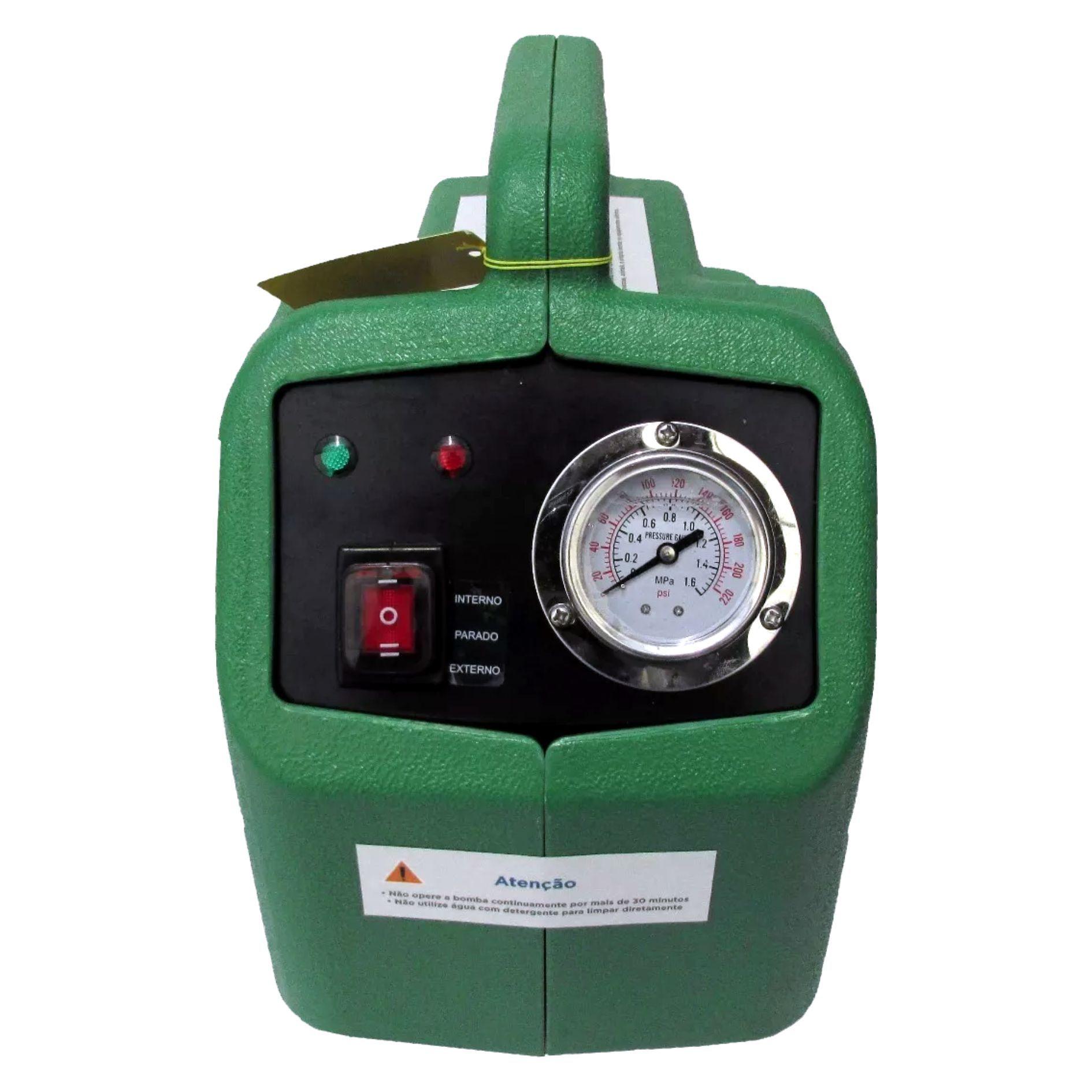 Máquina para Limpeza de Ar Condicionado Automática EOS 4S 220v 120PSI 80W