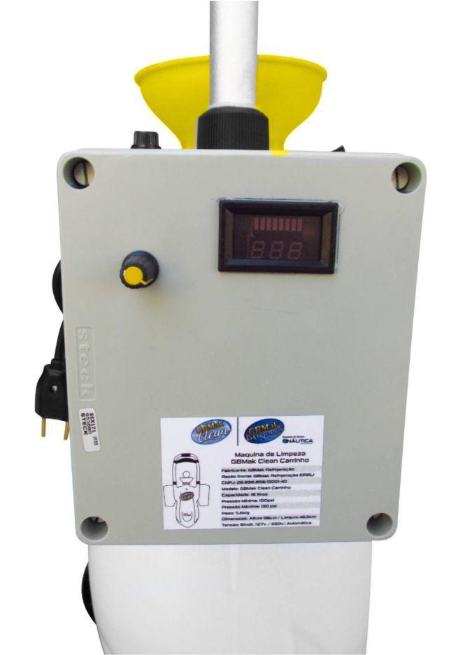 Maquina para Limpeza de Ar Condicionado Split GBMak Clean 16 Litros Automatica
