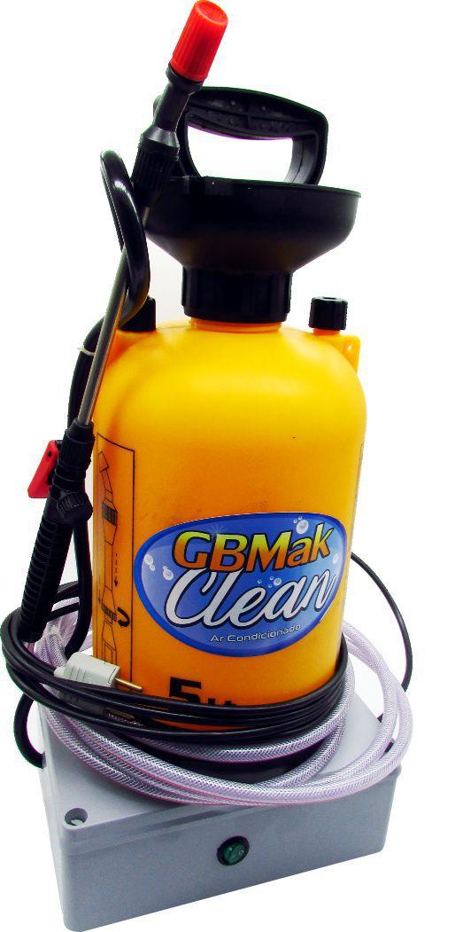 Maquina para Limpeza de Ar Condicionado Automatica GBMak Clean 5 Litros até 100 PSI