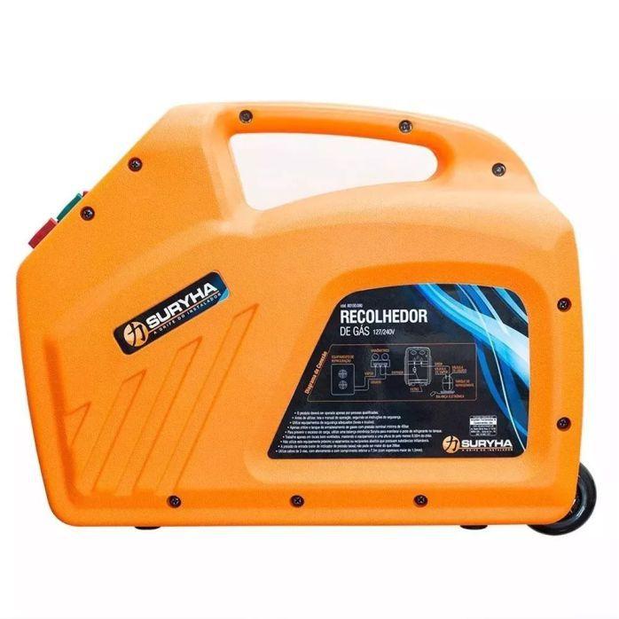 Recolhedor / Reciclador de Gás Suryha 80150.080 20 Gases Bivolt