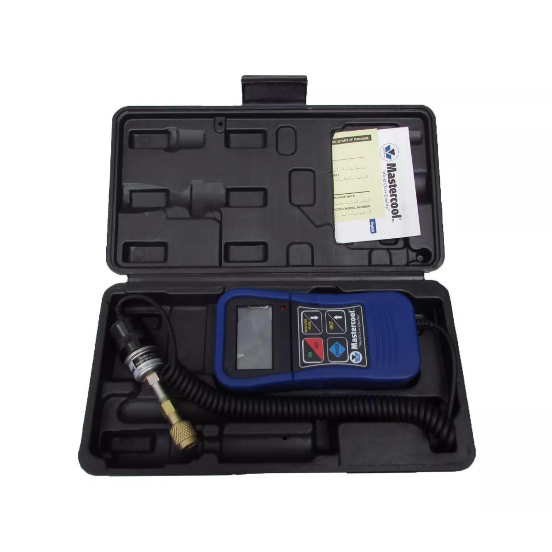 Vacuômetro Digital Mastercool 98061 com Registro Bola