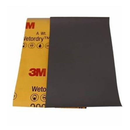 3M LIXA D´ÁGUA P3000 401Q 01998 (1 UNIDADE) 140MMX228MM  - Loja Go Eco Wash