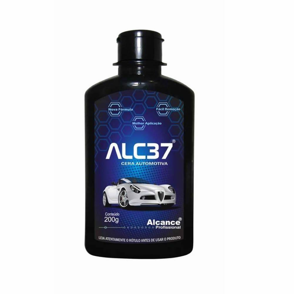 Alcance ALC37 Cera Automotiva à base de Sílica e Carnaúba - (200ml)  - Loja Go Eco Wash