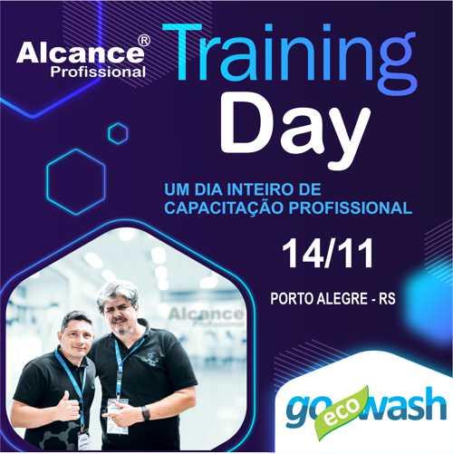 Alcance Training Day - 1 dia inteiro de capacitação  - Loja Go Eco Wash