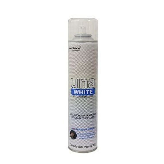 ALCANCE UNA WHITE SYNTHETIC WAX 400G SPRAY - CERA PROTETORA PARA PINTURAS CLARAS  - Loja Go Eco Wash