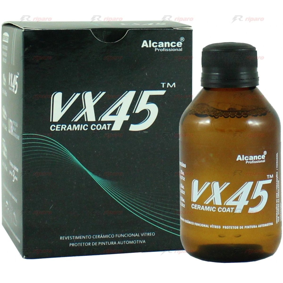Alcance VX45 Vitrificador Automotivo Ceramic Coat - 100ml  - Loja Go Eco Wash