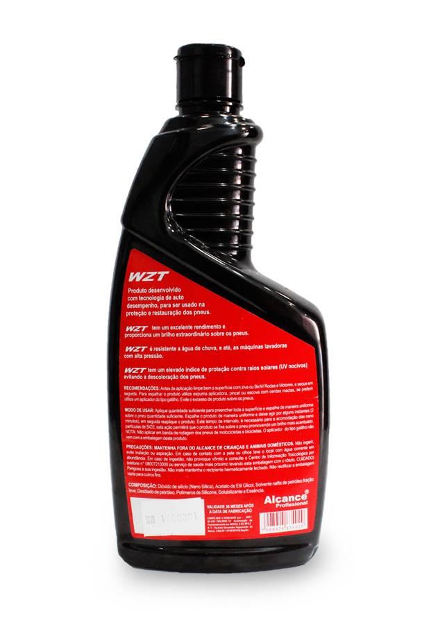 Alcance - WZT Pneus - Protege e Acentua o Brilho - 700ml  - Loja Go Eco Wash
