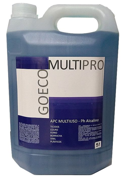 APC MultiPro Blue - Limpador Multiuso 5Lt  (Go Eco Wash)  - Loja Go Eco Wash
