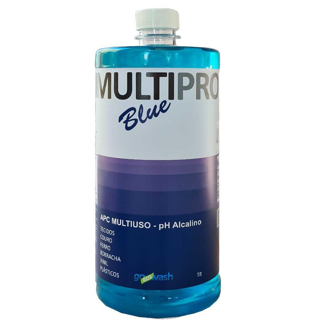 APC MultiPro Blue - Limpador Multiuso 1Lt  (Go Eco Wash)  - Loja Go Eco Wash